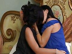 Lesbian MILF Black-haired Caucasian Lesbian Licking Vagina MILF Masturbation Oral Sex Pornstar Vaginal Masturbation Andy San Dimas India India Summer