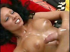 Cumshot Black-haired Caucasian Couple Cum Shot Handjob Masturbation 