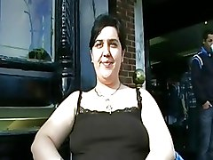 BBW Big Tits Public nudity flasher peeing piss public