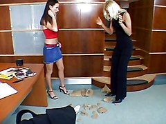 Lesbian Blowjob Blonde Blonde Blowjob Brunette Caucasian High Heels Lesbian Licking Vagina Masturbation Oral Sex Toys Dorina