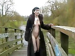 Goth Gothic Outdoor Tattoo babe