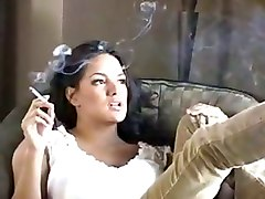 monica mendez smoking fetish babe latina