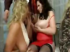 mature orgy blowjob sex oralsex blonde brunette stockings hardcore
