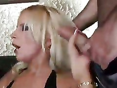 Boots Double Penetration blowjobs hot blonde