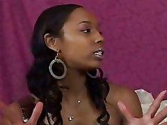 Ebony Lesbian Strapon