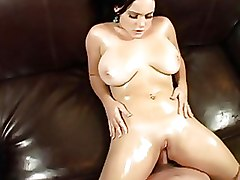 Oiled Pornstars Riding