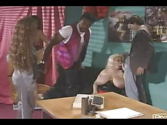 British Big And Busty Gaynor In Foursome  German Soundtrack