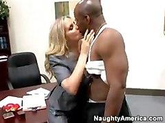 cumshot blonde interracial milf blowjob doggystyle bigtits table pussyfucking