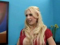 cumshot blonde interracial blowjob doggystyle bigtits titlicking pussylicking cumontits