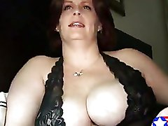 Busty Brunette American Housewife