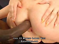 hot 3some interracial shaved anal nice tits blond cocksuck dildo