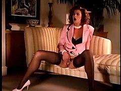 stockings cumshot hardcore blowjob brunette pussyfucking