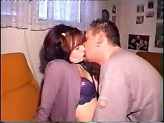 Amateur Amateur Black-haired Caucasian Couple Kissing Licking Vagina Masturbation Oral Sex Toys Vaginal Masturbation