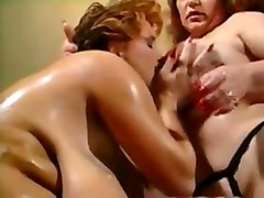 Old Bbw Slut Eating Big Tits