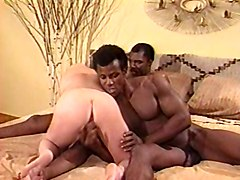 Interracial Threesomes Vintage