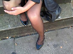 Public Nudity Stockings Upskirts