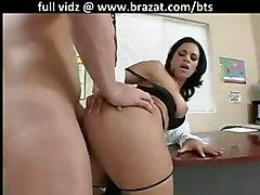 anal stockings milf brunette pussyfucking