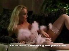 stockings cumshot hardcore blonde blowjob pussyfucking