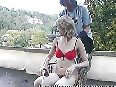 Fucking Machines Hairy Outdoor