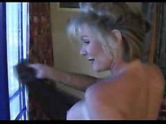 blonde interracial milf mature