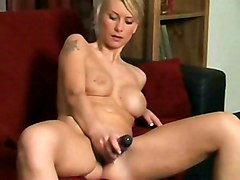 Amateur MILF Masturbation Blonde Amateur Blonde Caucasian MILF Masturbation Solo Girl Striptease Toys Vaginal Masturbation