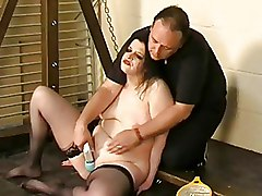 BDSM Electricity Torture extreme masochist orgasm pain
