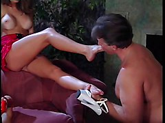 Threesomes Brunettes Foot Fetish MILFs Big Boobs