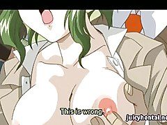 Hentai Babe With Stockings Enjoying A Cock