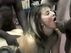 Gangbang Interracial Swingers
