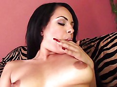 Latina Masturbation Bikini Black-haired Latin Masturbation Piercings Shaved Solo Girl Toys Vaginal Masturbation