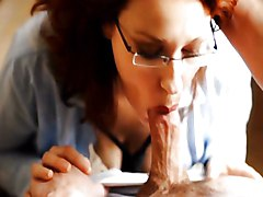 Blowjob Cumshot Redhead Blowjob Caucasian Couple Cum Shot Deepthroat Glamour Oral Sex Redhead Secretary Camille Crimson