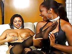Ebony Lesbian Stockings