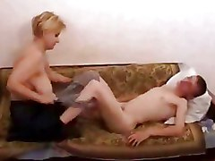 Granny Homemade fashion nylon granny blowjob