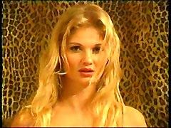 Blonde Lingerie Blonde Caucasian Lingerie Solo Girl