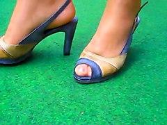Foot Fetish Lingerie Stockings