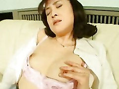 Asian Masturbation Pantyhose