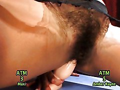 Anal Wild & Crazy Asian Masturbation Anal Masturbation Asian Caucasian Funny Hairy High Heels Masturbation Shaved Solo Girl Toys Amber Rayne Max Mikita