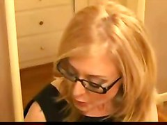 blond older woman mature mom milf mother and son