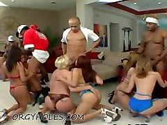 Orgy Of Whores On Blacks
