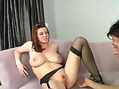 Big Tits Black Foot Fetish Footjob Stockings