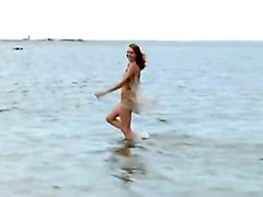 Lidiya Prancing Half NakedRedhead