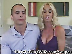 Big Tits Doggy Style Milf Threesome