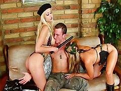 Hot Military Threesome