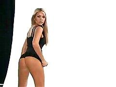 Teens Blonde Lingerie Blonde Caucasian Glamour Lingerie Solo Girl Striptease Teen Anette Dawn