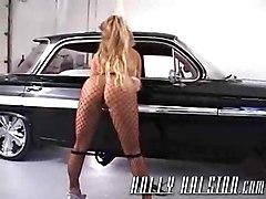 holly halston solo big boobs dildo