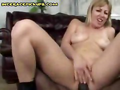 White Whore Wants Black Cum