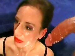 abused massive gag cock monster cock