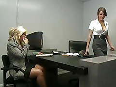 Babes Big Tits Office