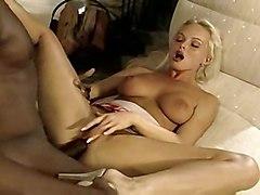 black blonde interracial monstercock michaels silvia saint sean