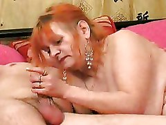 Mature Moms and Boys hot mature redhead suck dick titjob